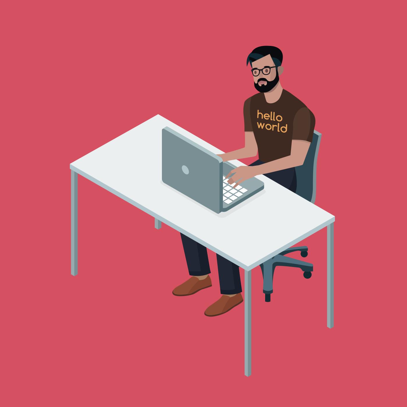 30 years programming (I'm 38) 15 years as a professional Triplebyte